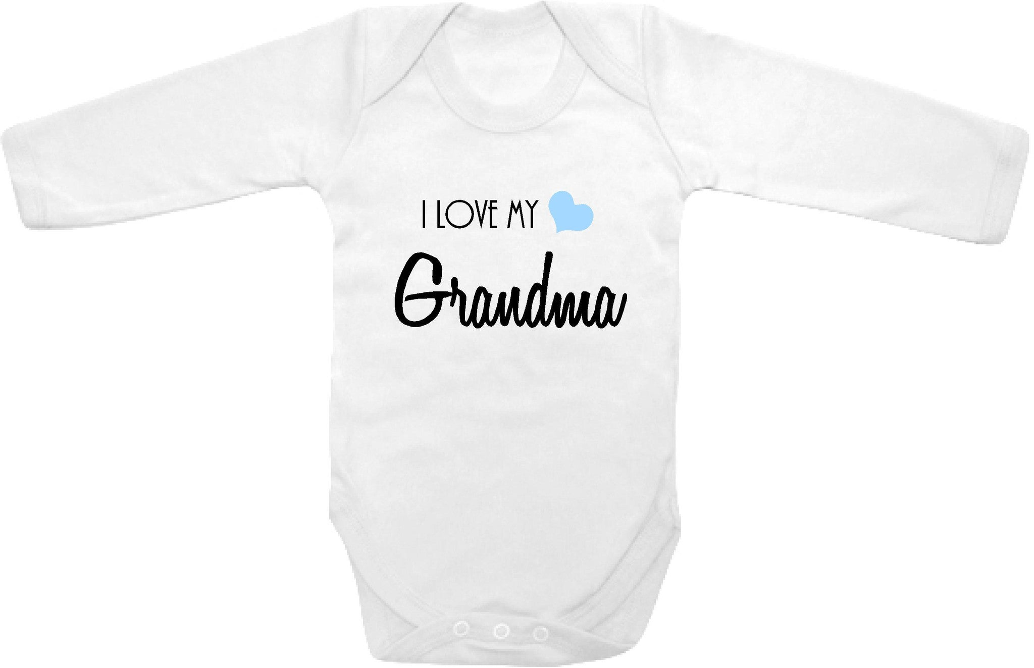 I love my Grandma cute infant clothing funny baby clothes one piece