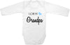 I love my Grandpa cute infant clothing funny baby clothes one piece bodysuit romper creeper