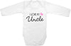 I love my Uncle cute infant clothing funny baby clothes one piece bodysuit romper creeper