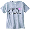 Baby girls I love my Uncle cute infant clothing funny baby clothes tee shirt
