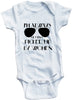 "Adorable Baby Tee Time ""I'm Always Getting Picked Up By Women"" Funny Onesie"