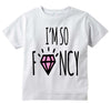 "Adorable ""I'm So Fancy"" Baby Tee Shirt"
