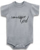 I am a child of God religious cute infant clothing funny baby clothes bodysuit one piece romper creeper