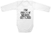 Funny Adorable Baby Tee Time I'm Proof Nerds Get Laid Baby Onesie