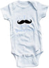 I mustache you a question cute infant clothing funny baby clothes bodysuit one piece romper creeper