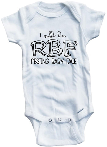 Adorable Baby Tee Time I suffer from RBF resting Baby clothes