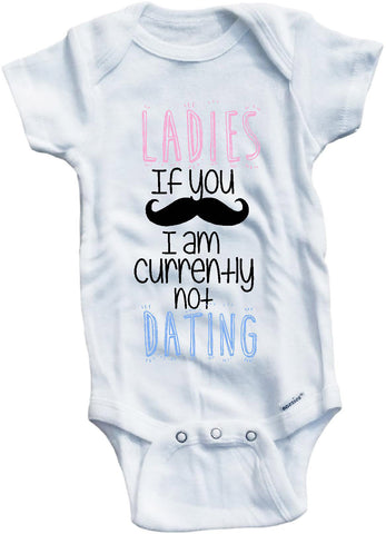 Ladies if you mustache I'm currently not dating cute infant clothing