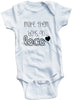"Adorable Funny Baby Tee Time ""Make them boys go loco"" Onesie"