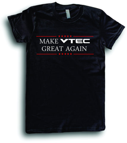 Mens American Apparel Make vtec great again funny tee shirt clothes clothing