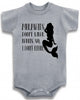 Adorable Baby Tee Time Mermaids Don't Wear Pants, So I Don't Either Onesie