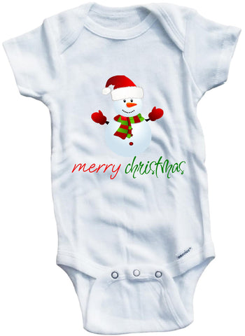 Merry Christmas cute infant clothing funny baby clothes bodysuit one piece romper creeper