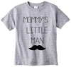 "Adorable ""Mommy's Little Man"" Baby Tee Shirt"