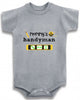 Mommy's handyman cute infant clothing funny baby clothes bodysuit one piece romper creeper