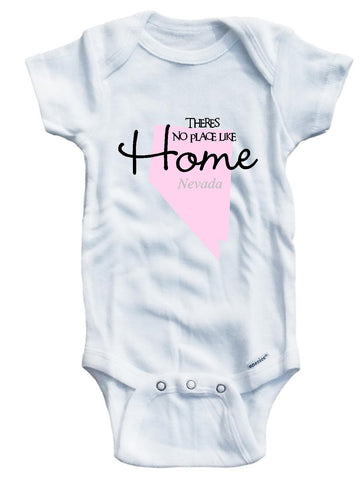 Baby girls' There's no place like home States N-Z background infant wear