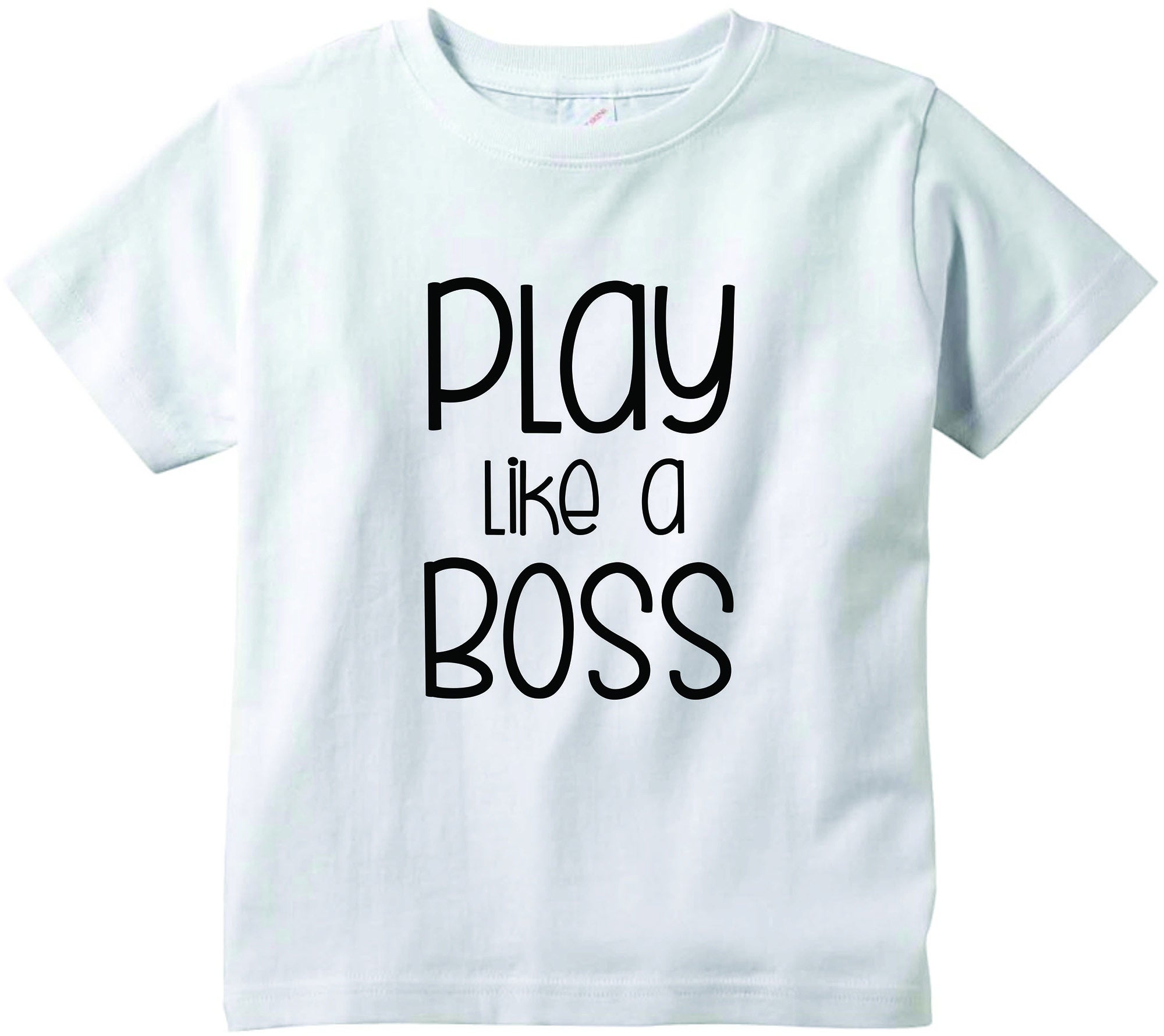 8cf4d8051 Play like a BOSS cute infant clothing funny baby clothes tee shirt – Baby  Tee Time