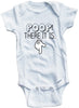 Adorable Funny Baby Tee Time Poop! There it is Baby Onesie