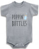 Poppin' bottles cute funny baby clothes bodysuit one piece onesie romper creeper infant clothing