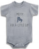 Adorable Funny Baby Tee Time Pretty Fly For A Little Guy Baby Onesie
