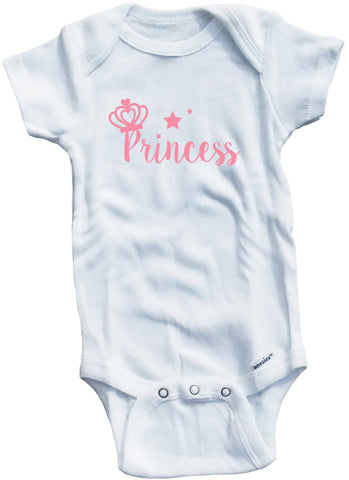 "Adorable Baby Tee Time ""Princess"" Baby Onesie"
