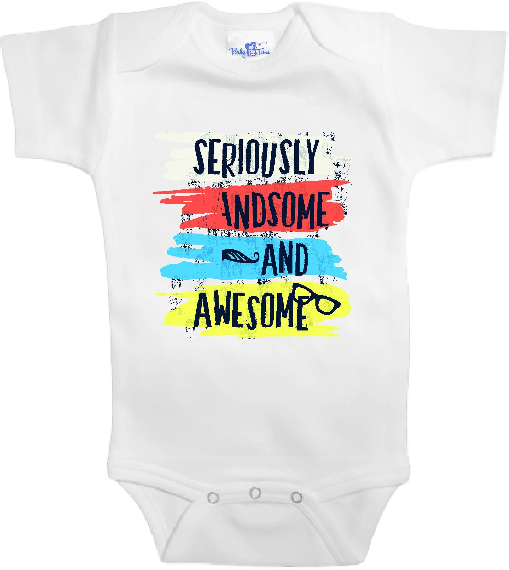 Adorable Baby Tee Time Seriously awesome and handsome popular Baby e