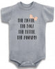 "Adorable Funny Baby Tee Time Babies ""The Bigger The Bow The Better The Mommy"" Onesie"