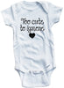 "Adorable Baby Tee Time ""Too Cute To Ignore"" Baby clothes"