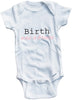 Birth was a breeze cute infant clothing funny baby clothes one piece bodysuit romper creeper