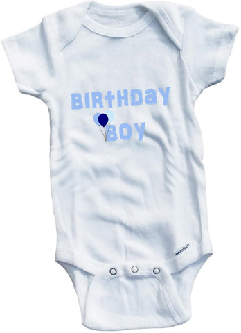 Birthday boy girl cute infant clothing funny baby clothes one piece bodysuit romper creeper