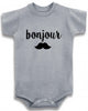 "Adorable Baby Tee Time ""bonjour"" Baby clothes"