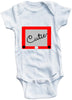 Cutie stencil cute infant clothing funny baby clothes bodysuit one piece romper creeper