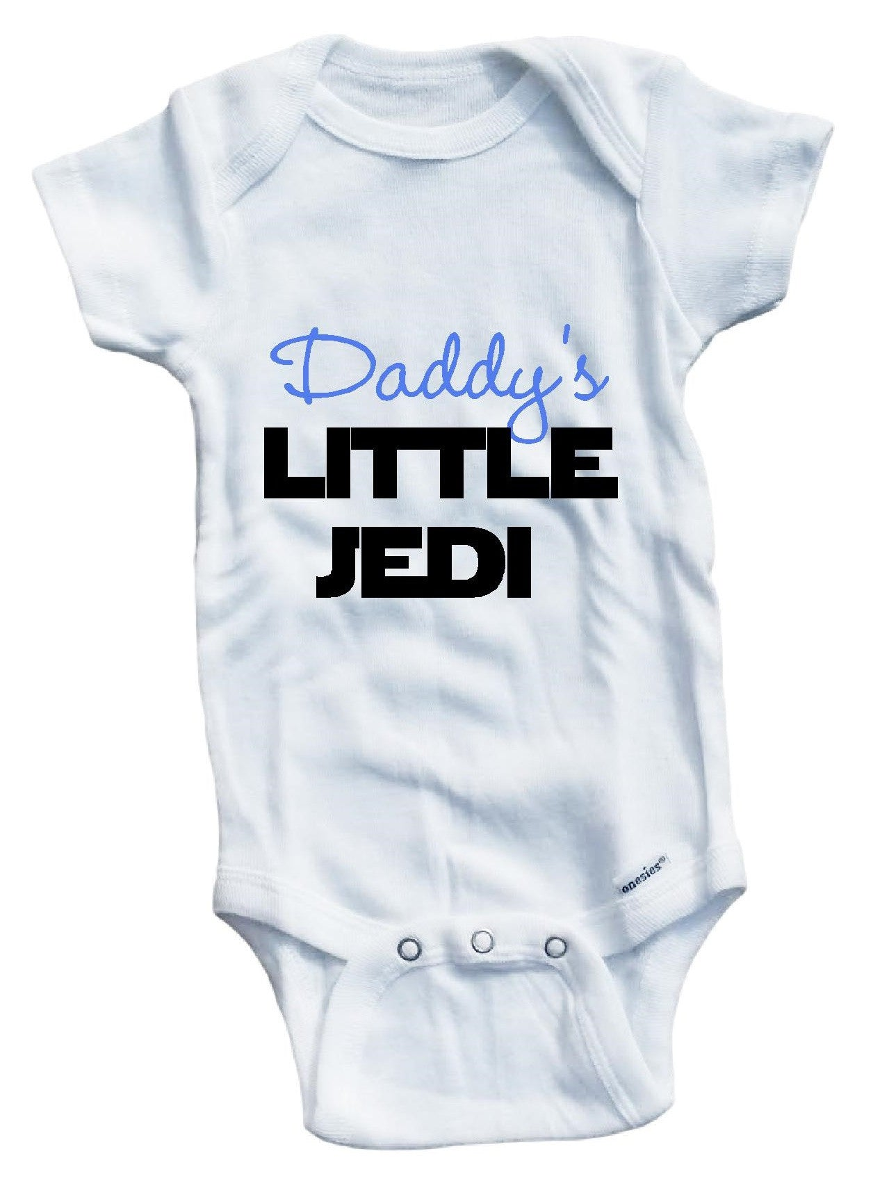 9d3d3c547 Daddy s little Jedi cute infant clothing funny baby clothes one ...