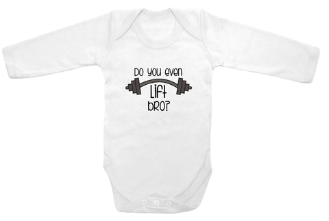 5a27874cf Do you even lift bro  cute infant clothing funny baby clothes ...