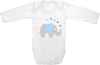 Elephant with hearts cute infant clothing funny baby clothes one piece bodysuit romper creeper