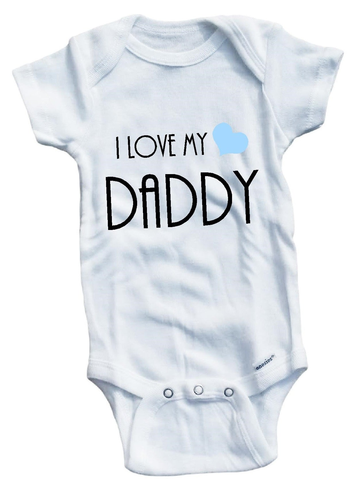 1a89e7f90 I love my Daddy cute infant clothing funny baby clothes one piece ...