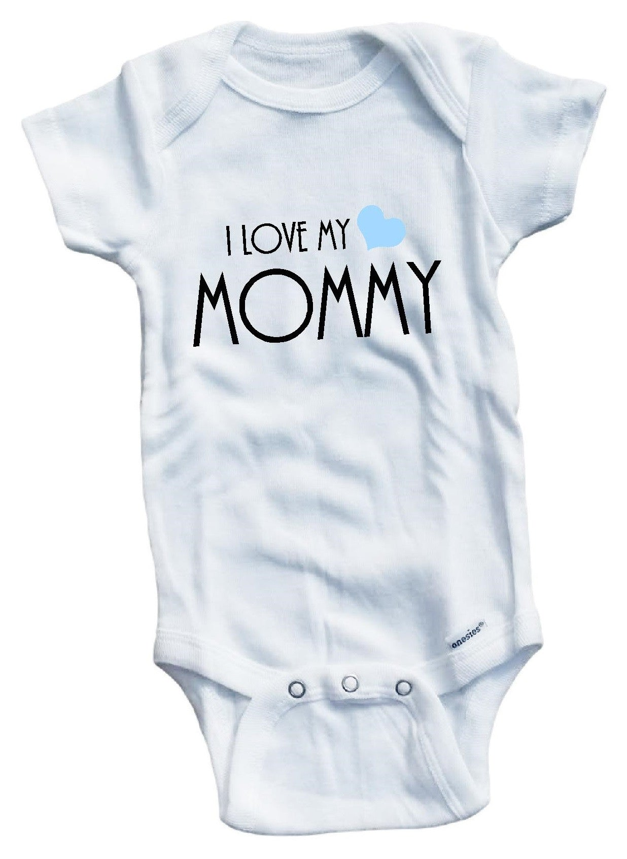 I love my mommy Cute Gift Baby Bodysuit By Apparel USA™