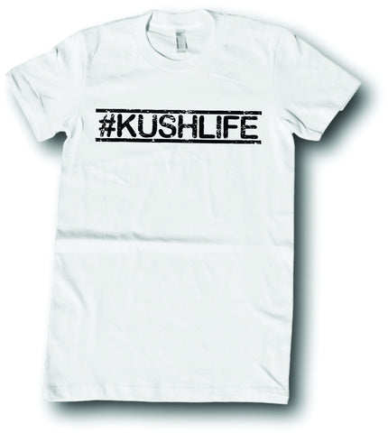 Mens American Apparel #Kushlife funny tee shirt clothes clothing