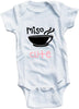 Miso cute cute infant clothing funny baby clothes one piece bodysuit romper creeper