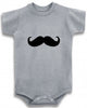 Mustache cute infant clothing funny baby clothes bodysuit one piece romper creeper
