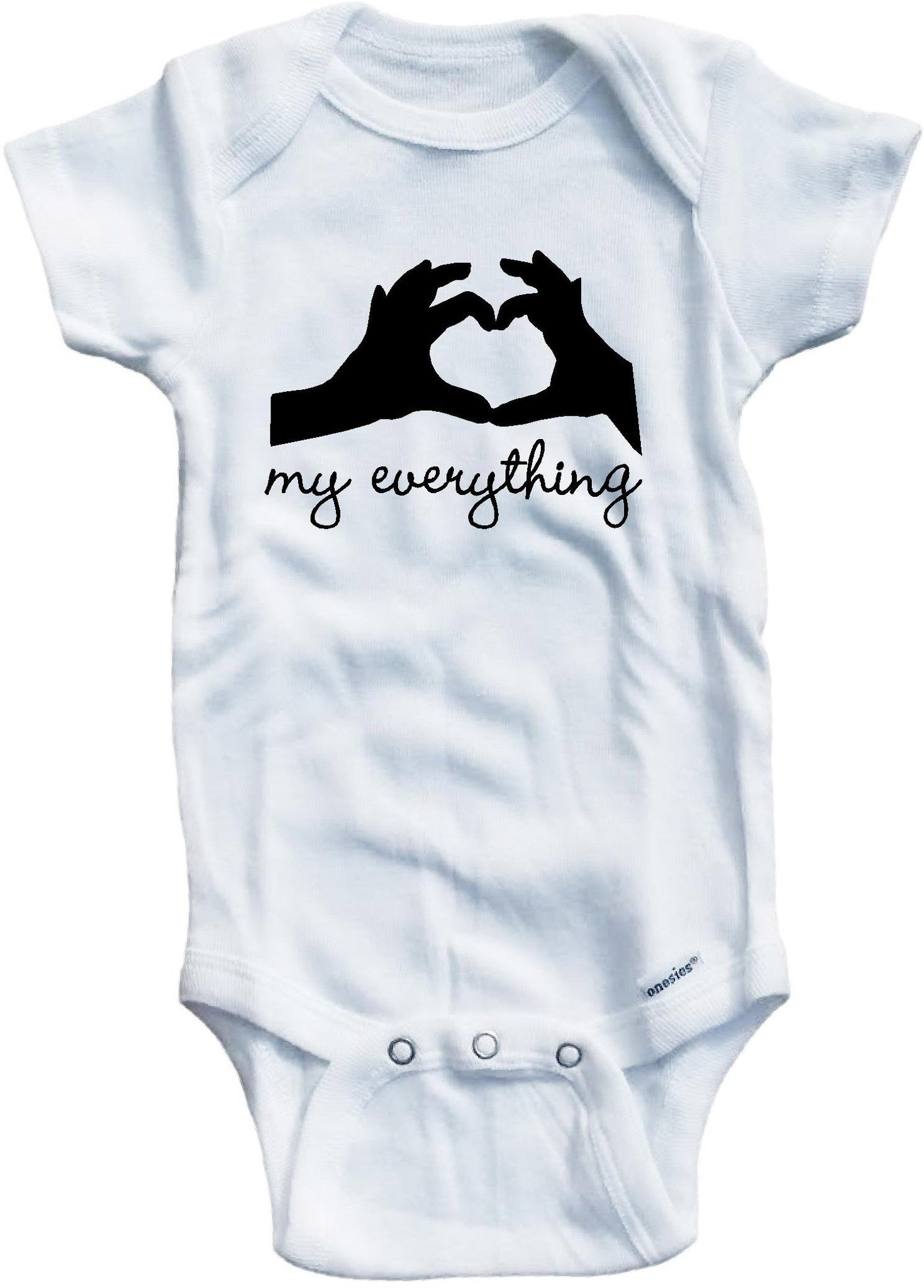 My everything cute infant clothing funny baby clothes