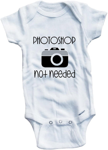 Photoshop not needed cute infant clothing funny baby clothes bodysuit one piece romper creepe