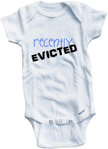 Recently evicted cute infant clothing funny baby clothes one piece bodysuit romper creeper