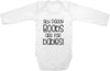 Silly daddy boobs are for babies cute infant clothing funny baby clothes bodysuit one piece romper creeper
