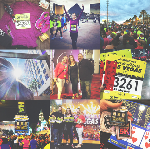 Las Vegas Run Rock 'n' Roll Half Marathon