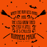 Halloween Runners Magic Burnout Tank