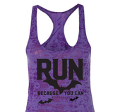 Halloween Run Because You Can Burn Out Tank