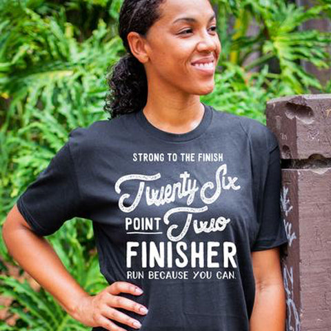 NEW Marathon Finisher Tee 26.2