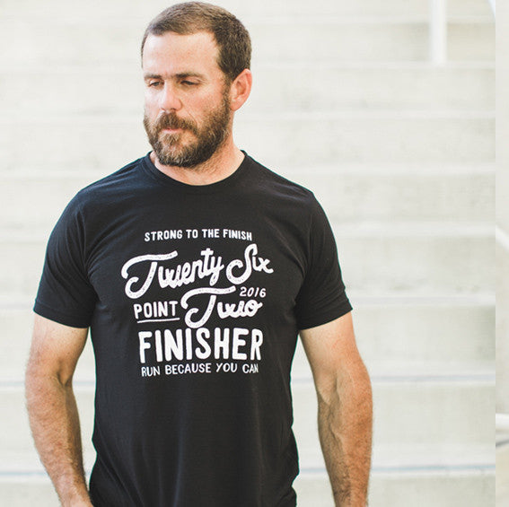 twenty six point two marathon finisher tee