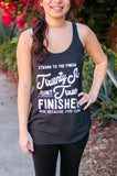 Miles and Pace // Marathon Finisher Tank 26.2