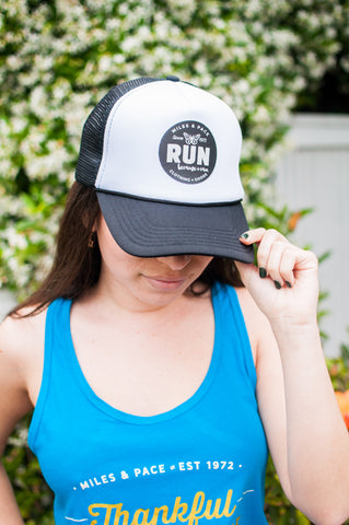 Run Because You Can - Butterfly Trucker Hat