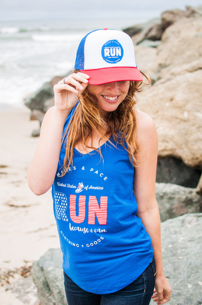 USA Run Because I Can // Tank